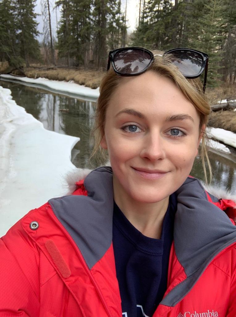 A massive photo of ma face - March 2019, Banff, Alberta